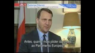 Interview with Radosław Sikorski by Nuno Rogeiro