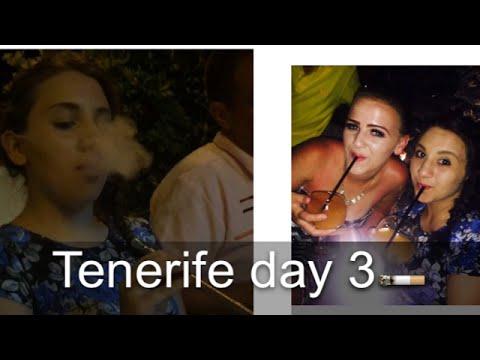 Vlog Day 3 in Tenerife - trying Shisha🚬👊🏼