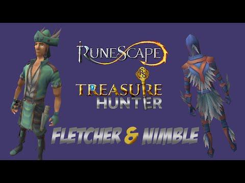 Fletchers Outfit & Nimble Outfit - Runescape Treasure Hunter Update