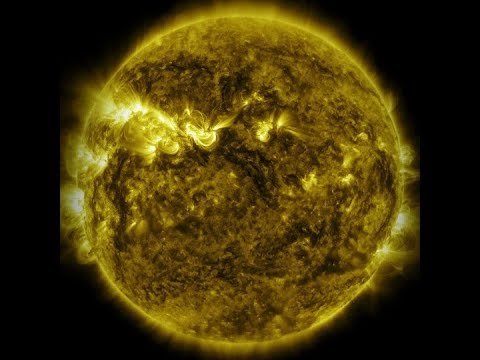 Deadly solar flares may also seed life