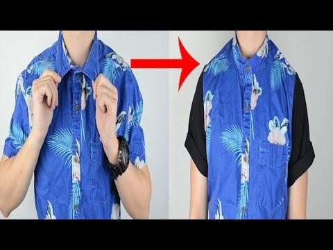 DIY: Collarless Button-up Tutorial