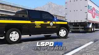 GTA V LSPDFR Commercial Vehicle Enforcement San Andreas Pack