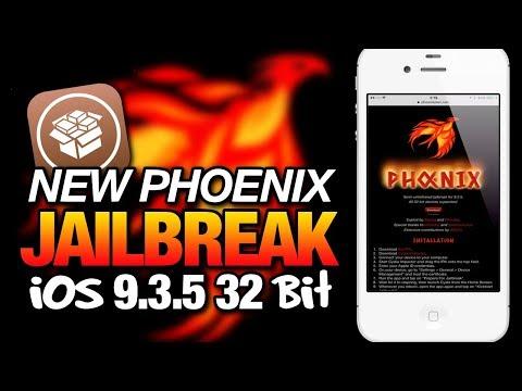 New PHOENIX JAILBREAK For iOS 9.3.5 32-bit Devices - Semi-Untethered Jailbreak