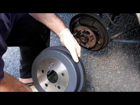Brake Drum Replacement - Toyota Camry