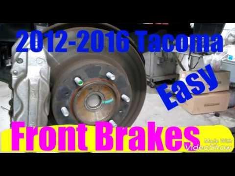 2012-2016 Tacoma Front Brakes