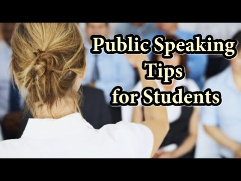 How to be a CONFIDENT SPEAKER in School or College
