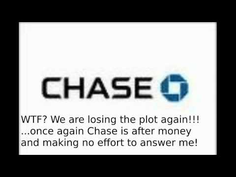 Call with Chase Bank