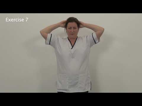 Home exercises after DIEP surgery - for after the first 4 weeks