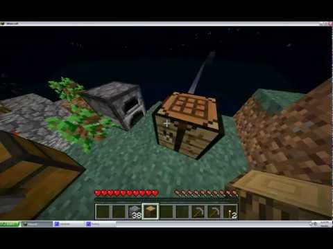 Skyblock Series Part3 - Journey to Sandblock and Nether Portal