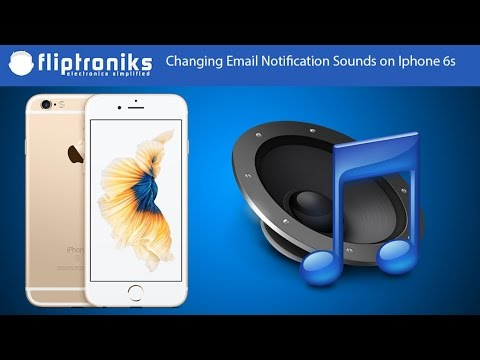Iphone 6s How To Change Email Notification Sounds - Fliptroniks.com
