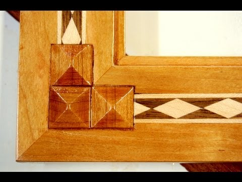 Make Decorative Wooden Pyramids for Inlay