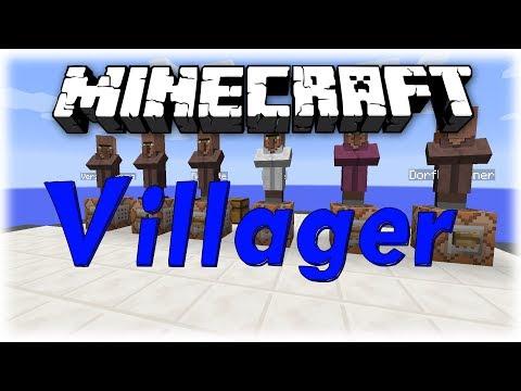 Minecraft Tutorial: Command Block - Villager Angebote erstellen #019 [Deutsch | HD]