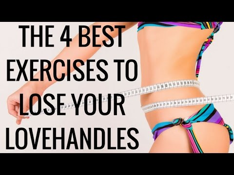 The 4 Best Exercises to Lose your Lovehandles