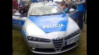 Pokaz Sygnalizacji Świetlno - Dzwiękowej C252 - Alfa Romeo 159 - KMP WRD Bydgoszcz
