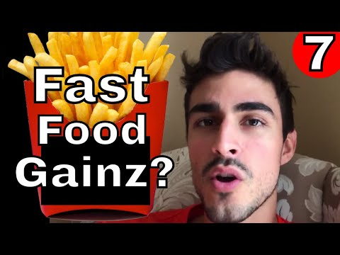 Fast Food While Bulking (My Thoughts)