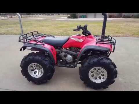 Honda 300 Fourtrax FO-4 & Exhaust Snorkel/ Motor Rebuild Update