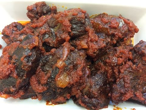 How to make fried beef in tomato sauce