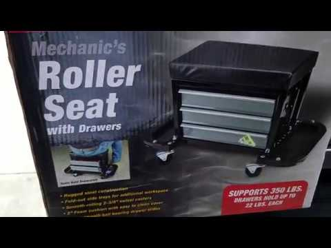 Roller Seat Harbor Freight Review and Assembly