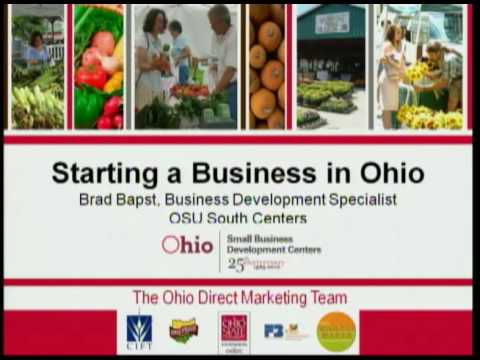 Starting a Business in Ohio