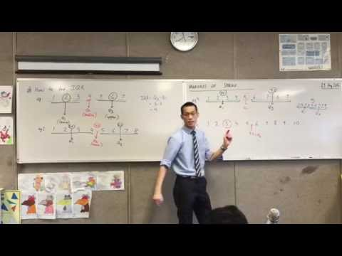 Measures of Spread (2 of 2: How to find Inter-Quartile Range)