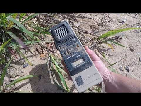 Outer City Creek Treasure Hunt: 1900's Giant Cell Phone