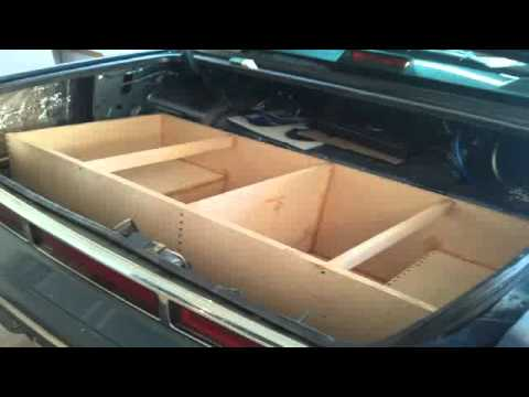 Trunk encloure build Pt.1