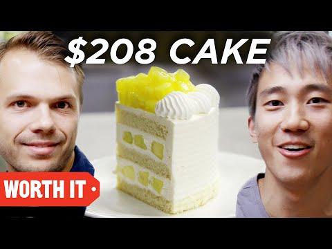 $7 Cake Vs. $208 Cake • Japan