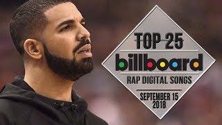 Top 25 • Billboard Rap Songs • September 15, 2018 | Download-Charts
