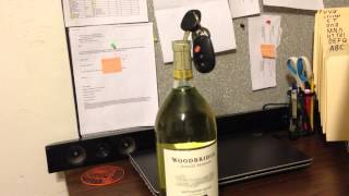 How To Easily Open A Bottle Of Wine Without A Corkscrew
