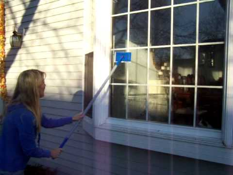 Part 1:How to Clean your Outdoor Windows with Windex Outdoor. The Easy Way, with Shelly Dee.
