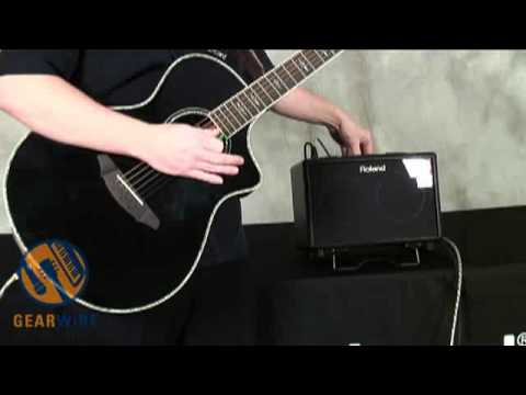 Roland AC-33 Acoustic Guitar Amplifier Video Demo By Johnny DeMarco