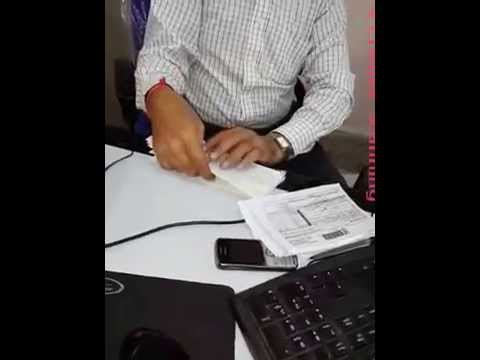 CTS Cheque scanning in Bank