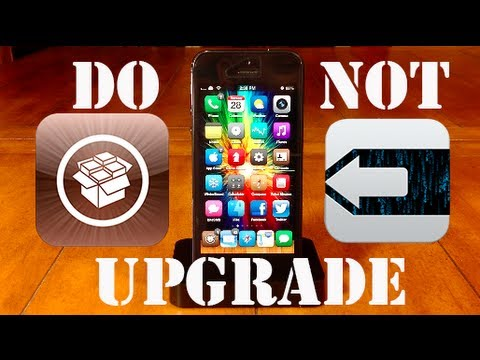 iOS 6.1.3 Jailbreak - DO NOT UPGRADE!!