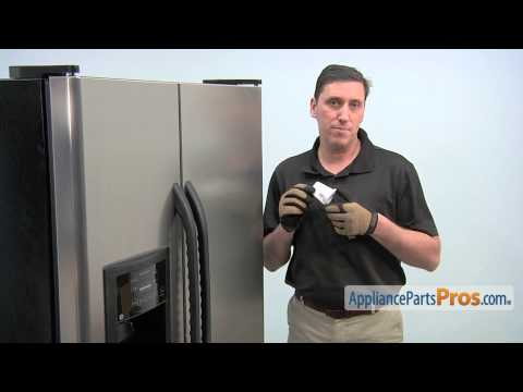 Refrigerator Filter Bypass Cap (part #WR02X11705) - How To Replace