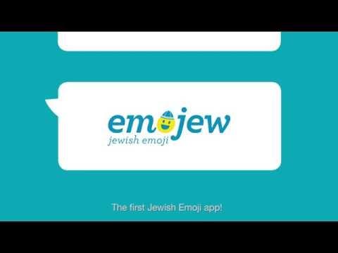 Emojew- The Jewish Emoji app. (The