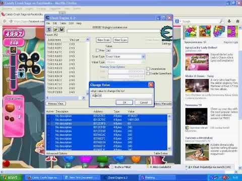 Candy Crush Saga Cheat Engine 2014   Free Download