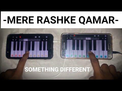 Mere Rashke Qamar Piano |Piano Keyboard|Piano Lessons|Piano Music|learn piano Online|Mobile|Piano
