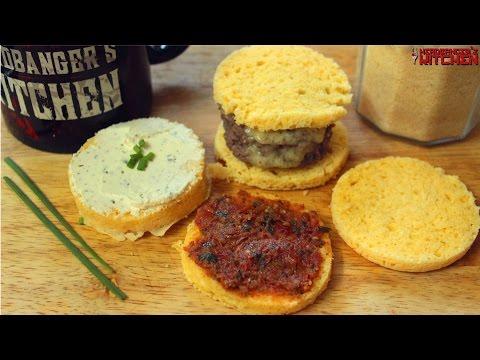90 Second Keto Bread in the microwave (Almond Flour) | Keto Recipes | Headbanger's Kitchen