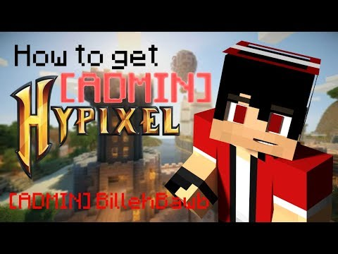 How to get ADMIN on Hypixel!