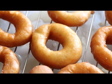 Glazed Doughnuts (Banh Tieu Nuoc Duong) Recipe