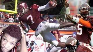 The Greatest Qb Of All Time Michael Vick College Highlights Reaction