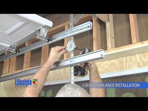Assembling the Springs & Counterbalance system: Lifestyle Screens garage door screen