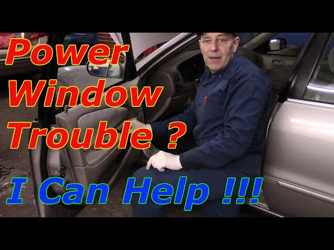 How To Diagnose And Repair Power Windows On A Toyota Corolla