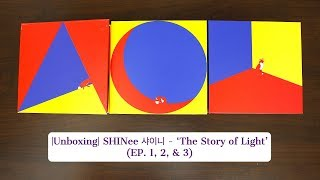 ♡Unboxing SHINee 샤이니 6th Studio Album The Story Of Light