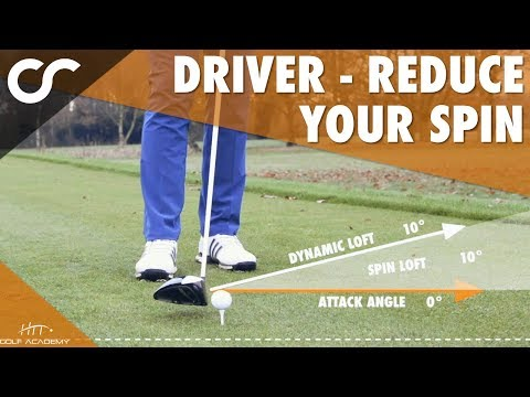 DRIVER - HOW TO LOWER YOUR SPIN