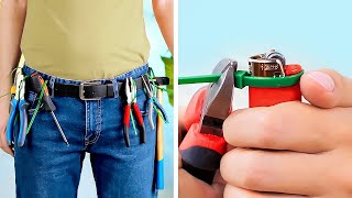 ZIP TIES, CABLES, FASTENERS. Incredible hacks for everyday life