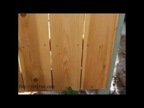 How To Eliminate Large Gaps Between New Wood Fencing, Before You Build