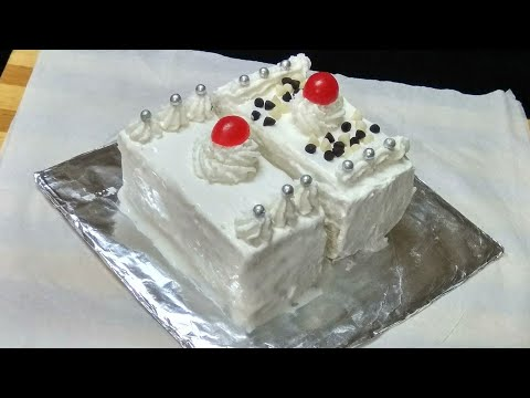 घर पर ही बनाए स्वादिष्ट पेस्ट्री केक | Instant Bread Pastry Recipe | Bread Pastry Cake Recipe .