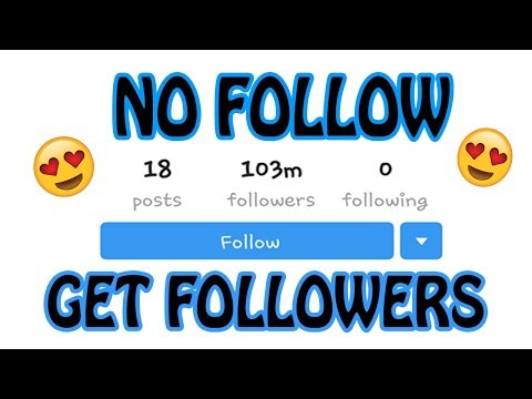 How to Get Instagram Followers without Following Others.(100% working trick with Proof)