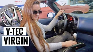 Sabrina Reacts to her NEW S2000!